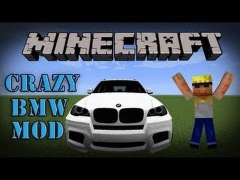 Minecraft 1 11 Mods Crazy Bmw Car Mod Mod Showcase