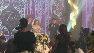 """Trấn Thành lần đầu làm MC dẫn đám cưới """"lầy lội"""" không tưởng"""