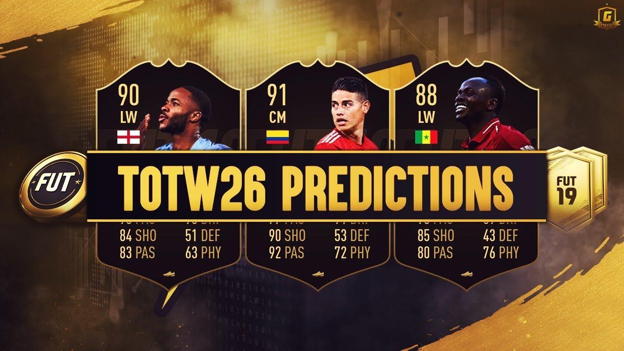 Totw 26 Predictions