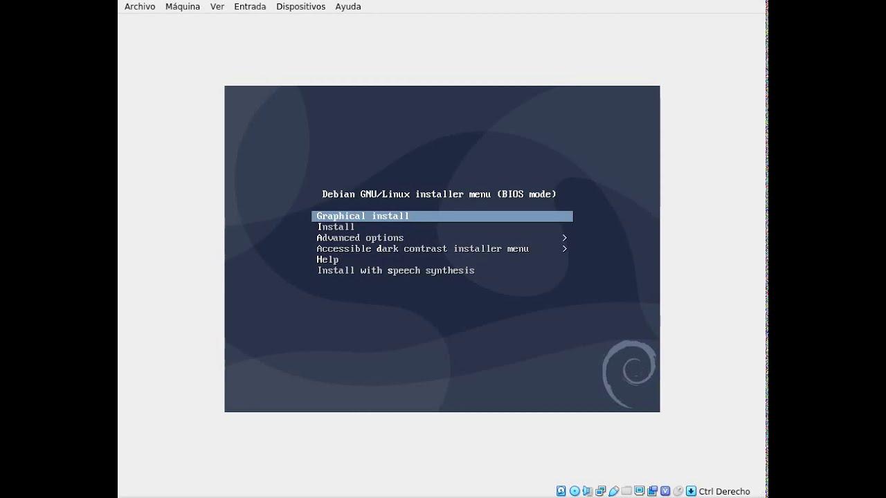 Instalación de Debian Buster 10.1