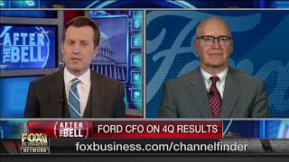 Ford CFO: We expect the business to improve in 2019