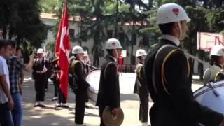 Kuleli Askeri Lisesi Boru Bando Trampet geçişi