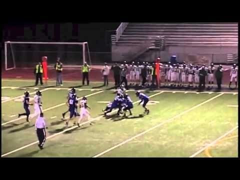 Sean Gorman - Charles Wright Academy Football - 2013 Highlights