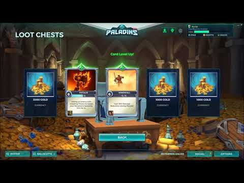 Paladins OB64 Not Getting Chest Rewards???