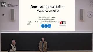 prof. Benda: Současná fotovoltaika – mýty, fakta a trendy [Fyz. čtvrtek, on-line]