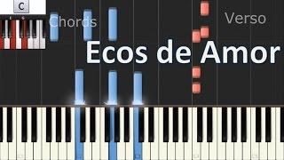 Como tocar ECOS DE AMOR - Piano Cover Tutorial - Jesse & Joy - MoroMusicPiano thumbnail