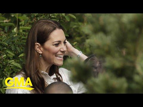 Kate Middleton discusses