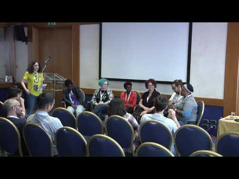 Image from Diversity Panel: experience and discussion from all over the world