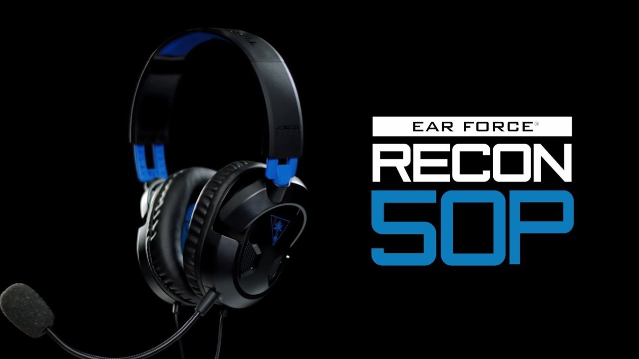 e201acaa246 Recon 50P Gaming Headset for PS4 and Xbox One - Turtle Beach®
