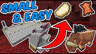 1.16-1.16.3+ EASY Food Farm, HOGLIN! [10 minute build] | Minecraft