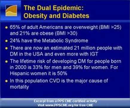 Diabetes Overview Epidemiology Horton Part 1 NDEI PPSCME