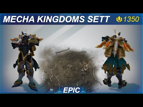 Mecha Kingdoms Sett Skin Spotlight | SKingdom - League of Legends