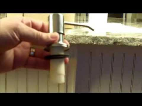 Soap Dispenser Installation Video