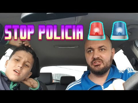 Hamza u tut prej POLICIS !!! VLOG
