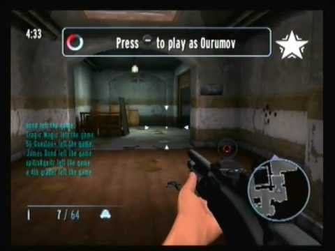 GoldenEye: Clip: GoldenRy Makes Gueston Disappear.