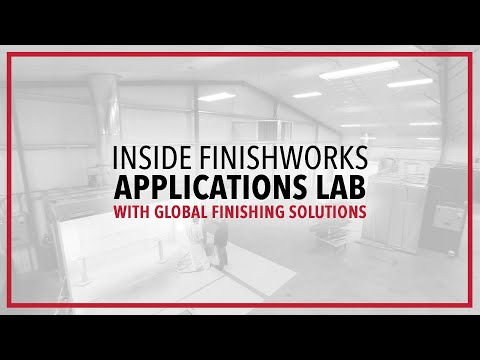 Inside FinishWorks Applications Lab | Global Finishing Solutions