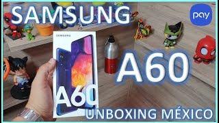 Samsung A60 Unboxing México/ se parece al A8S