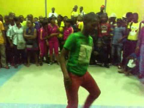 South African dance style (bhenga)