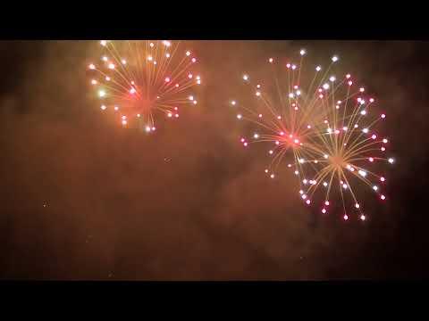 Fogo de Artificio em Souto São Salvador Guimarães 2018 HD