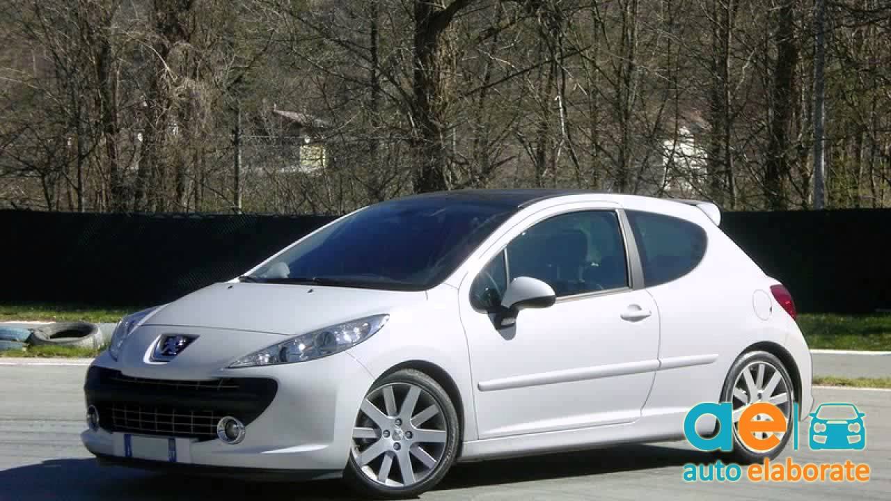 peugeot 207 thp tuning youtube. Black Bedroom Furniture Sets. Home Design Ideas