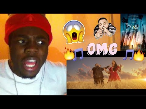 DJ Khaled - I Believe (from Disney's A WRINKLE IN TIME) ft. Demi Lovato REACTION!!!