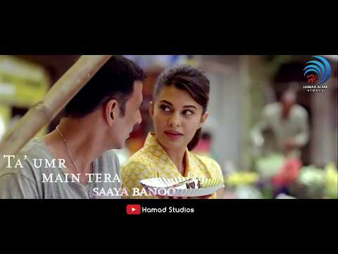Sapna Jahan Lyrics - WhatsApp Status Brothers | #AkshayKumar #JaqualineFernandiz | 30 Seconds Video