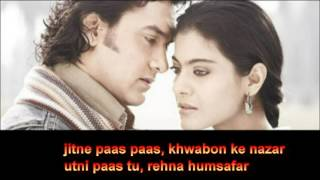 Mere Haath Mein Karaoke with lyrics YouTube