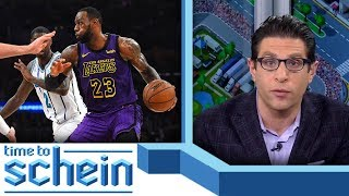 Does LeBron regret signing with the Lakers? | Time to Schein