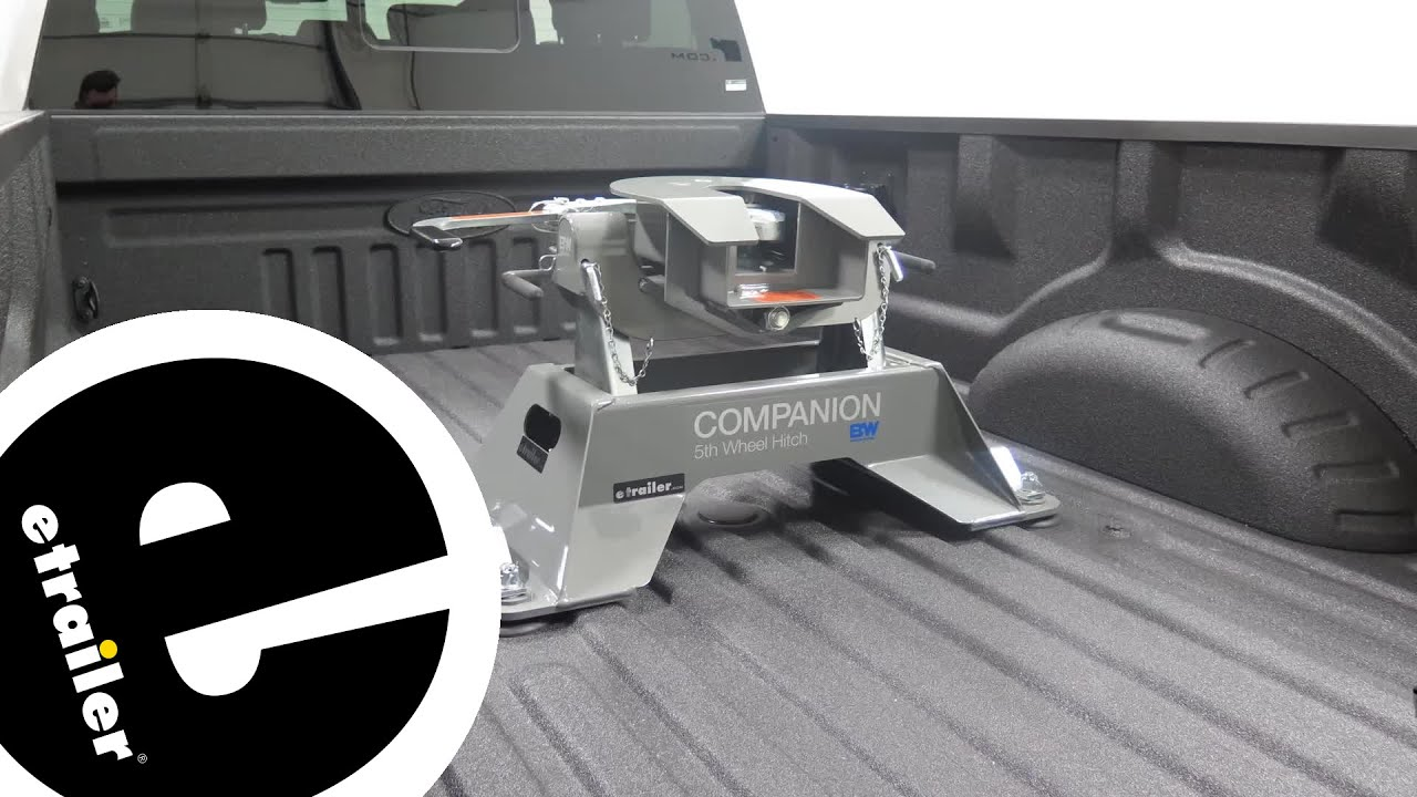 Etrailer B And W Companion Fifth Wheel Hitch Installation 2018 Ford F 350 Super Duty
