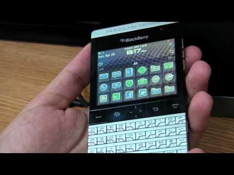 BlackBerry Porsche Design P9981 review HD ( in ROmana ) - www.TelefonulTau.eu -