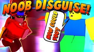 NOOB DISGUISE TROLLING #9 IN SUPER POWER TRAINING SIMULATOR! (ROBLOX)