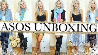 HUGE WINTER ASOS HAUL, UNBOXING AND TRY ON