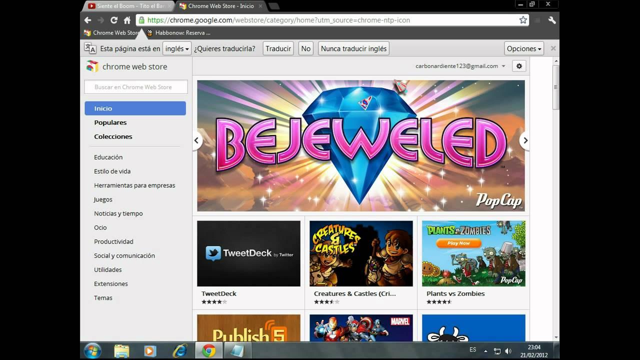 Como Descargar Juegos En Google Chrome Youtube