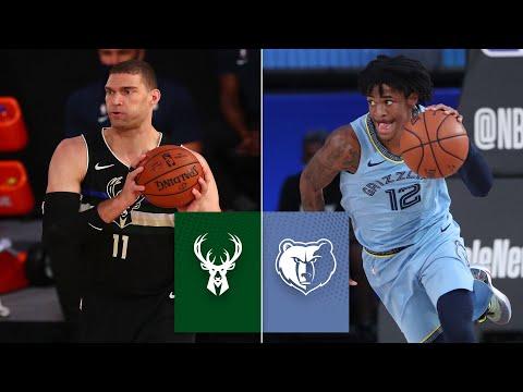 Milwaukee Bucks vs. Memphis Grizzlies [FULL HIGHLIGHTS] | 2019-2020 NBA Highlights
