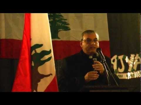 Fr. Peter Karam (St Maron Church) at Lebanon Day in Cleveland