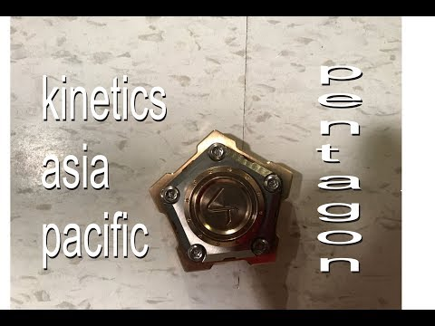 Fidget Spinner Testing and Review - Pentagon by Kinetics Asia Pacific
