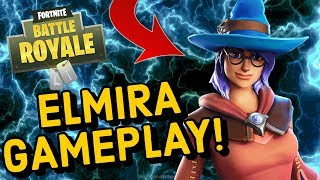 New ELMIRA Skin Gameplay in Fortnite..