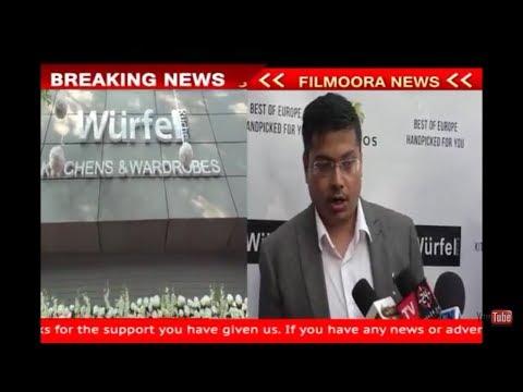 Amit Doshi -At Wurfel Kuche - Showroom Launch - In Mumbai Of -Premium Modular Kitchen