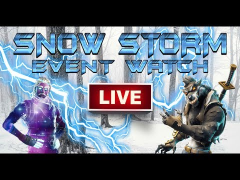 fortnite snow storm event watch live storm is growing fast item shop reset countdown smotret video besplatno onlajn - marshmello live fortnite countdown