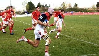 France - Pays de Galles moins 18 ans  : Le résumé