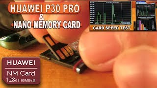 Huawei P30 Pro & Nano Memory Card (How to Insert, Speed Test, X ray photos)