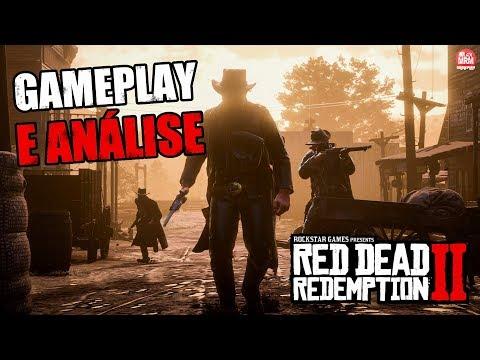 RED DEAD REDEMPTION 2 : GAMEPLAY - REAÇÃO e ANÁLISE DETALHADA!