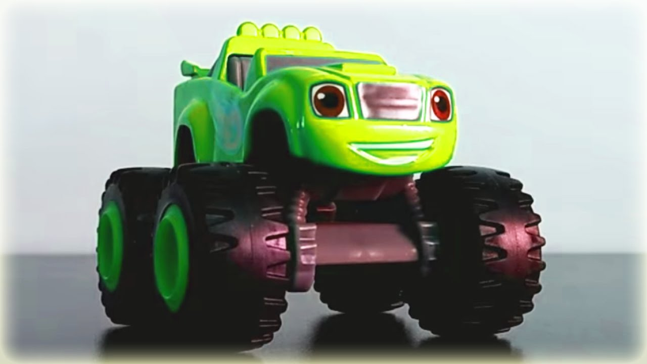 blaze and the monster machines color changing toys youtube