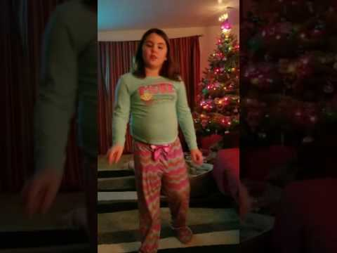 Emma dancing to Shawn Mendes treat you better