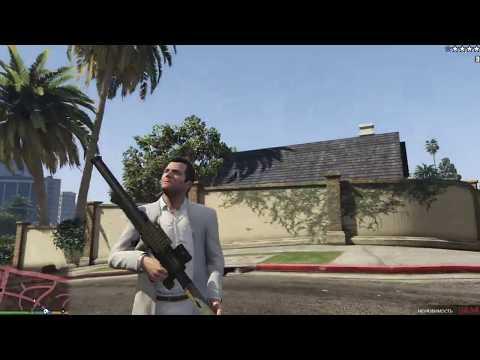 GTA 5. Супер оружие - самонаводящаяся РПГ! Играю, покатушки, с комментариями