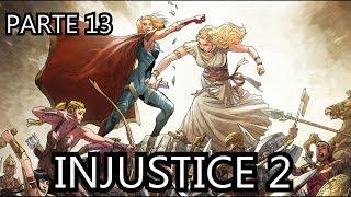 INJUSTICE 2 parte 13 - guerra amazona - alejozaaap