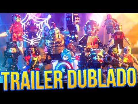 LEGO MARVEL SUPER HEROES 2 - REACT + Informações (Trailer de Anúncio DUBLADO)