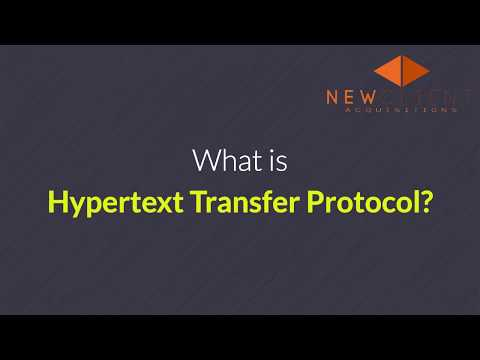 what is hypertext transfer protocol