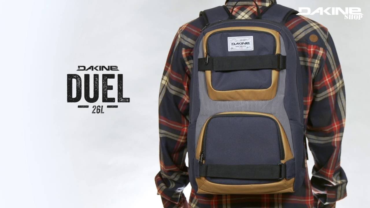 Dakine Duel 26L Skate & Street backpack - YouTube