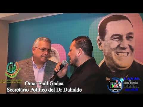 Omar Gadea Asesor Político Sec Eduardo Duhalde. (Multimedios Buenos Aires)